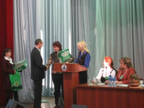 Вручены ценные подарки от компании ООО «Мегре» организаторам и всем участникам конференции